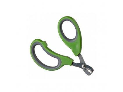 Nůžky na drápky pro králíky, zelená
