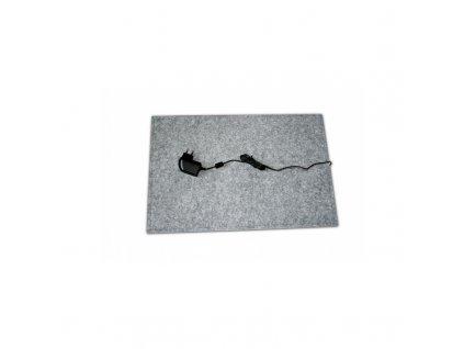 Thermo Výhřevná podložka pro psy, topný koberec 40 x 60 cm, 12 V / 20  W