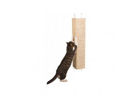 Škrabadlo pro kočky KEVIN, rohové, 80 x 28 cm, 80 x 28 cm