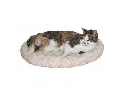 Pelíšek pro kočky a psy oboustranný, 54 x 45 cm / béžová