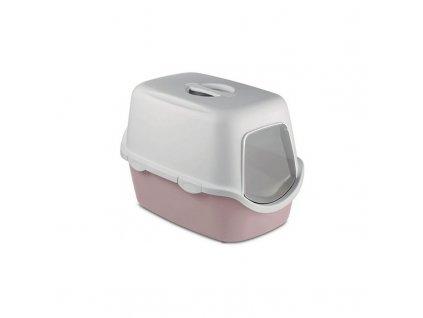 Toaleta pro kočky Cathy Filter - kočičí WC s filtrem, pudrově hnědá