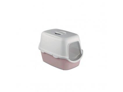Toaleta pro kočky Cathy - kočičí WC s filtrem, pudrově hnědá
