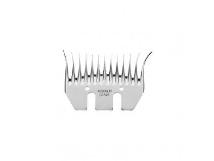 Nůž stříhací horní Aesculap Econom II, 13 zubů / 3,5 mm pro jemnou vlnu