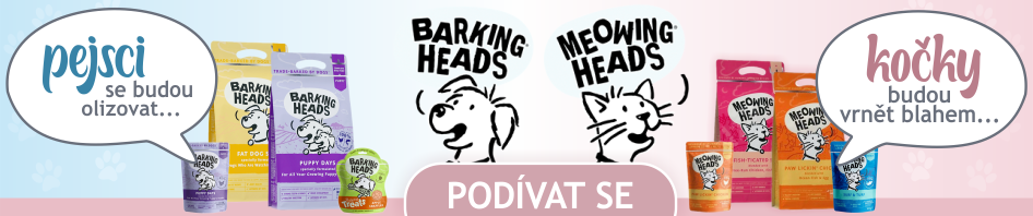 Barking and Meowing Heads banner carousel