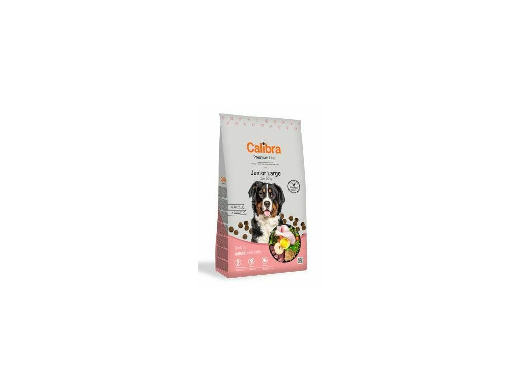Calibra Dog Premium Line Junior Large 12 kg NEW