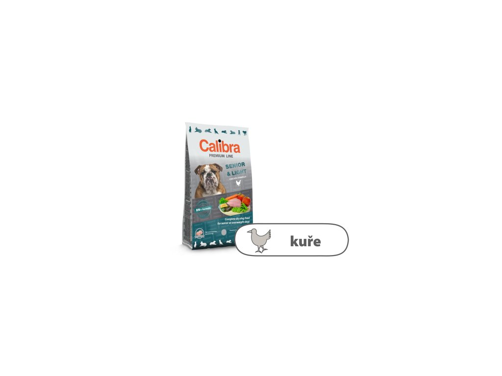 Calibra Dog Premium Line Senior & Light 3 kg