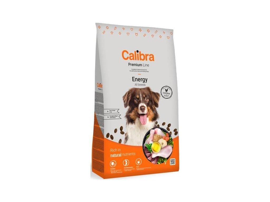 43980 calibra dog premium line energy 12 kg novy