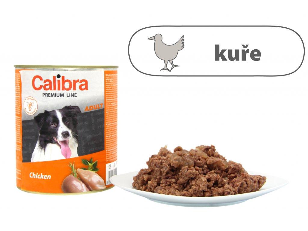 Calibra Chicken štítek