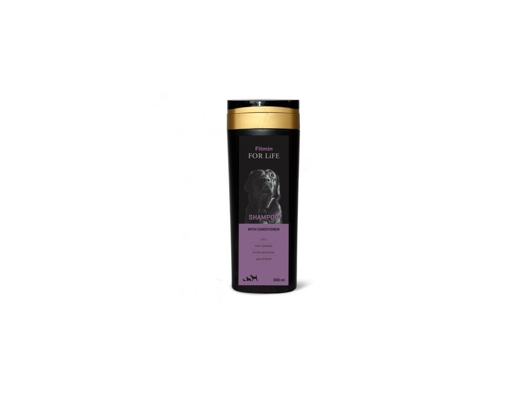 Fitmin For Life With Conditioner šampón pro psy 300 ml