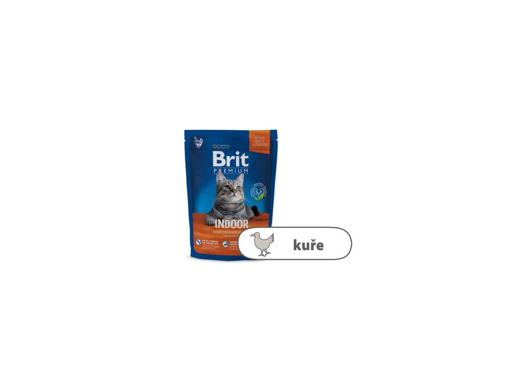 Brit Premium Cat Indoor 1,5 kg