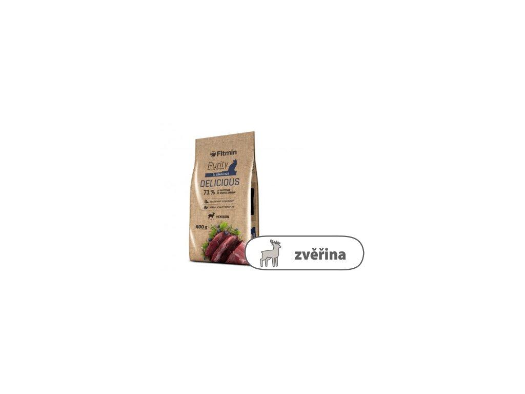 Fitmin Purity Delicious kompletní krmivo pro kočky 400 g