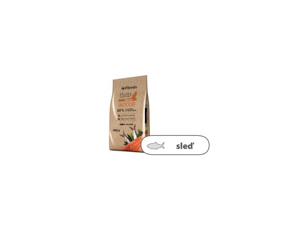 Fitmin Purity Indoor kompletní krmivo pro kočky 400 g