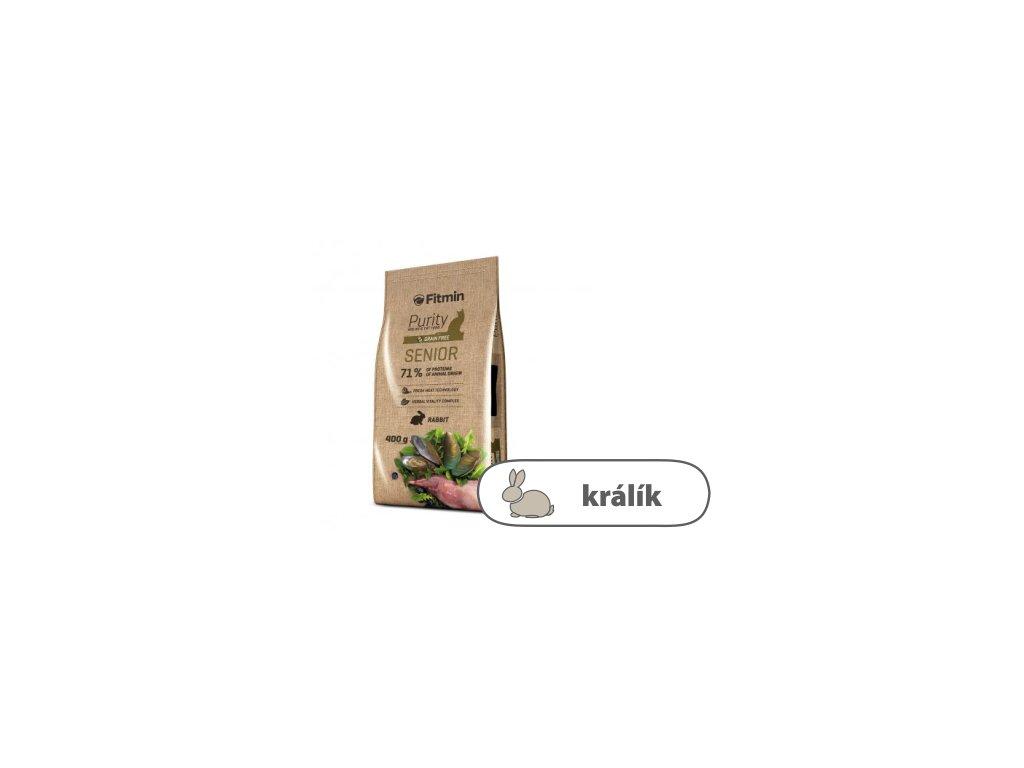 Fitmin Purity Senior kompletní krmivo pro kočky 400 g