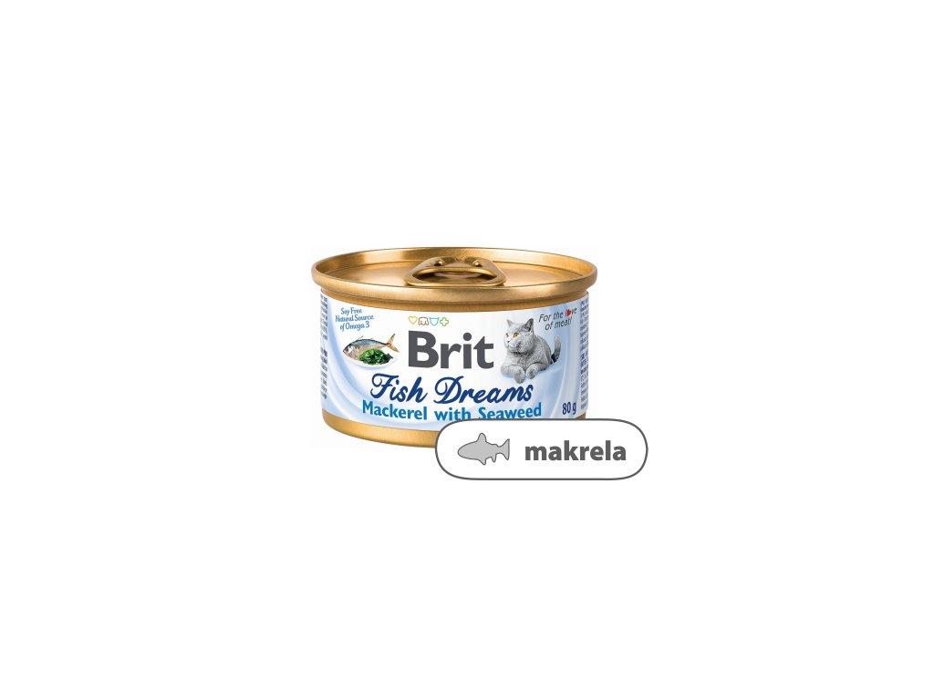 Brit Fish Dreams Mackerel & Seaweed 80 g