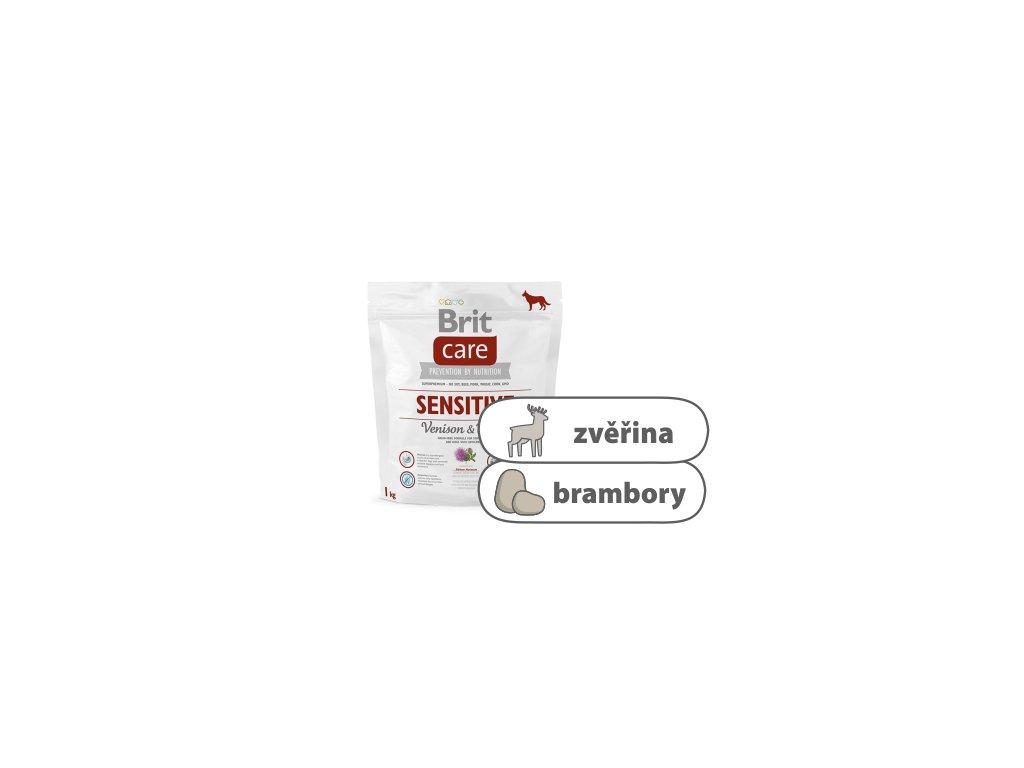 Brit Care Dog Sensitive Venison and Potato 1 kg