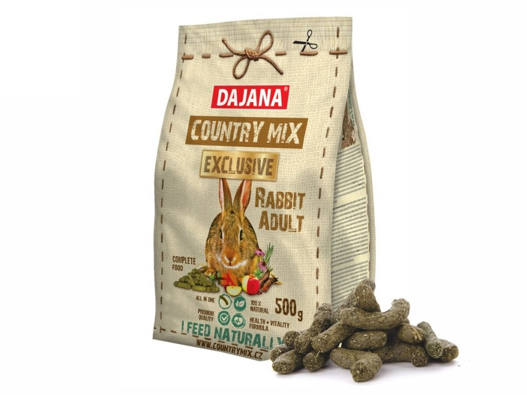 32234 dajana country mix exclusive rabbit 500 g 1