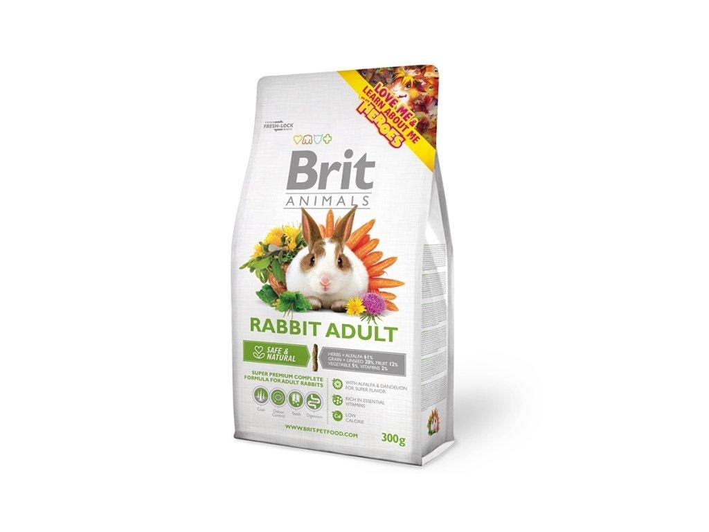 Brit Animals RABBIT ADULT complete 300 g