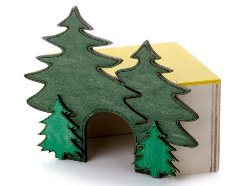 33038 jk animals dreveny rohovy domek les c 1 krecek 1