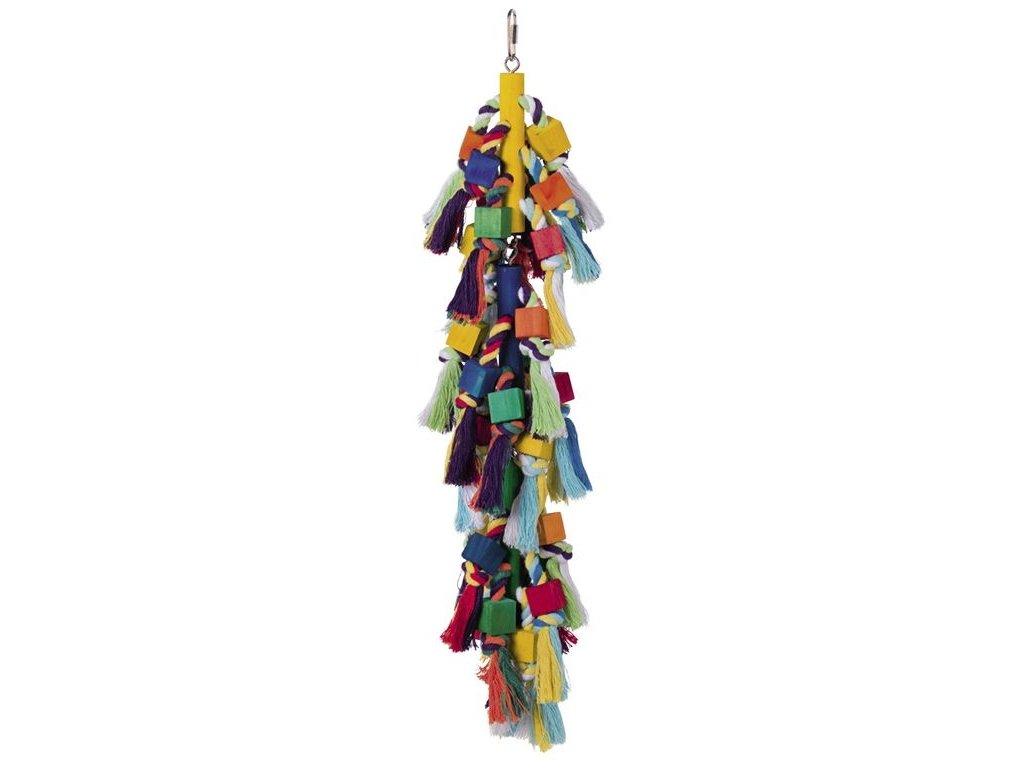 Nobby hračka pro papoušky cop dřevo 50x13cm