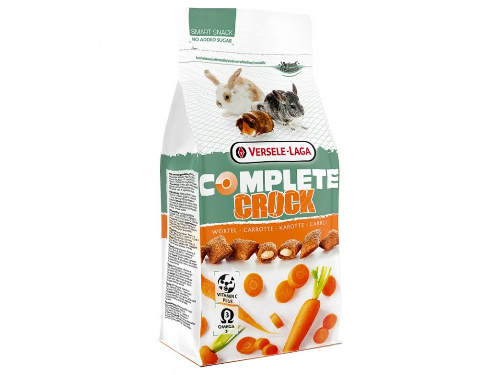 VL Complete Crock pro hlodavce Carrot 50g
