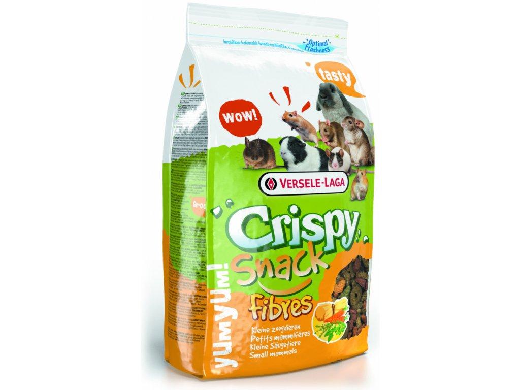 VL Crispy Snack pro hlodavce Vláknina 650g