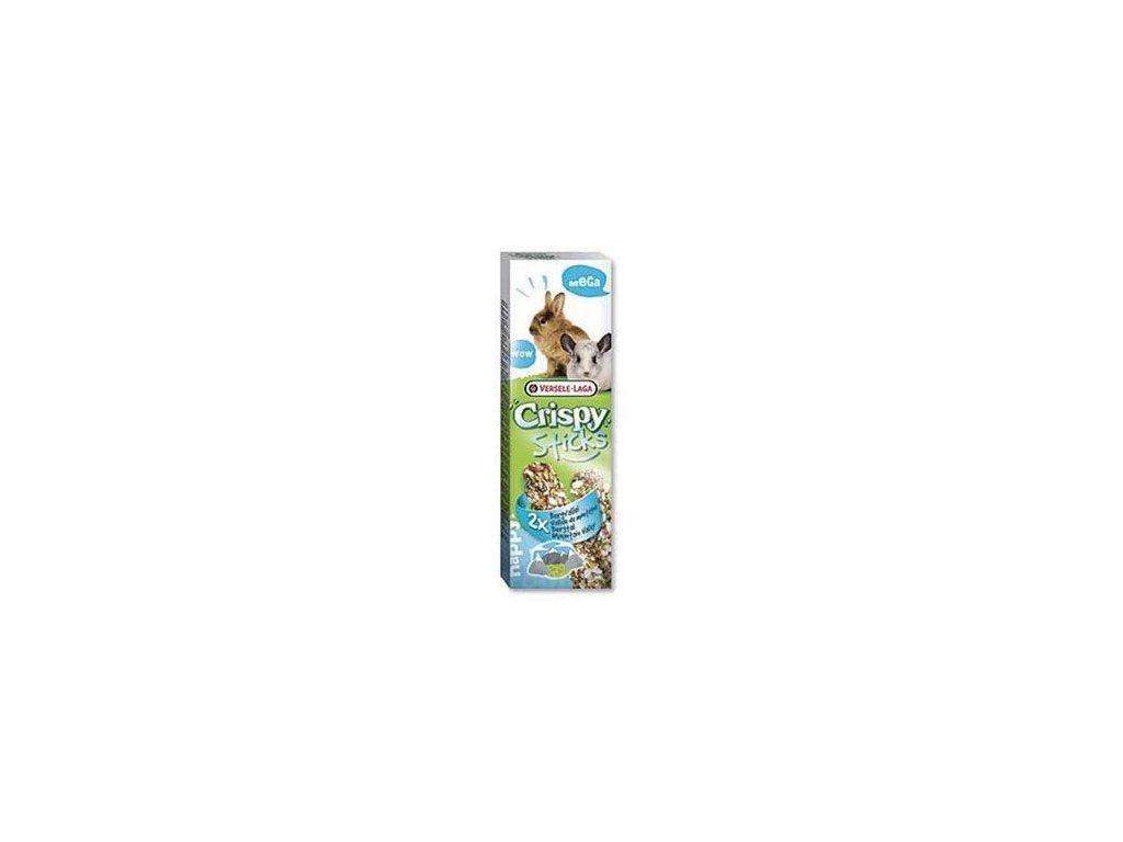 VL Crispy Sticks pro králíky činčily Byliny 2x70g