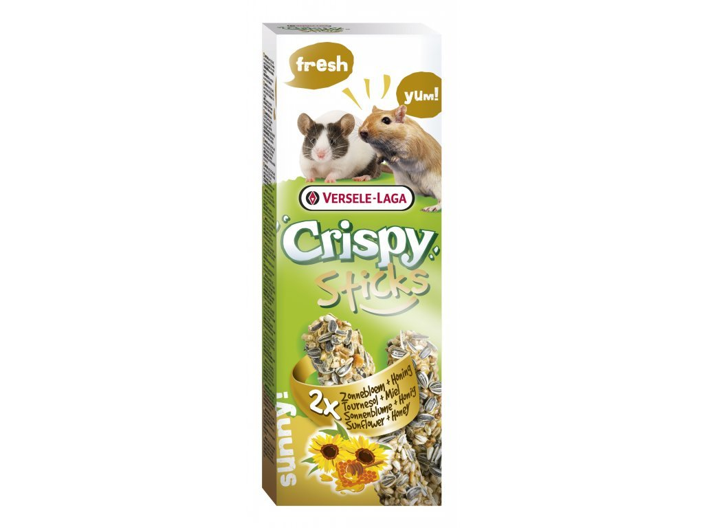 VL Crispy Sticks pro křečky pískomily Med 2x55g