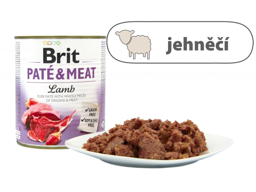 Brit Pate and Meat Lamb větší konzerva
