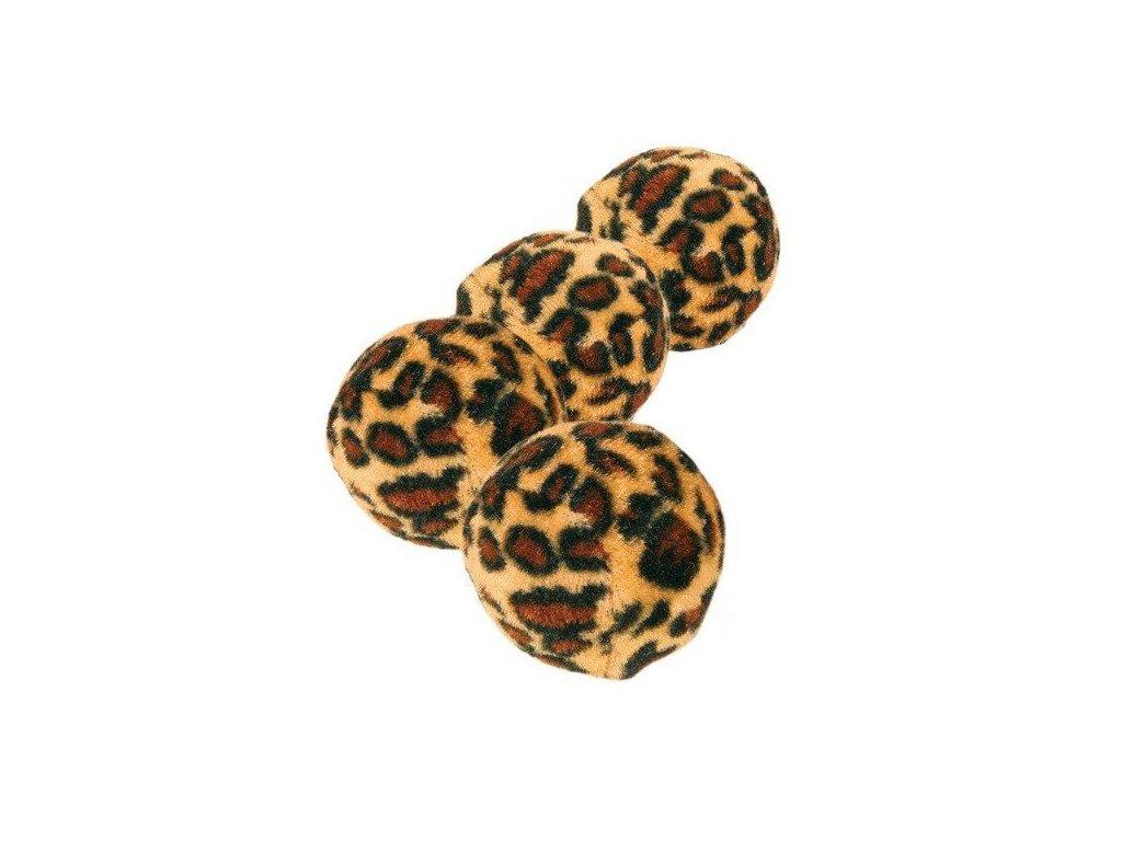 Míčky leopardí motiv 4cm