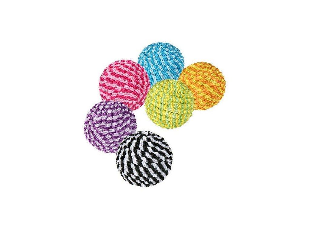 Provázkové míčky různé barvy 4,5 cm TRIXIE