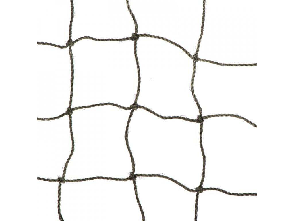 Ochranná síť pro kočky, tkaný drát, olivová 2x1,5m 1
