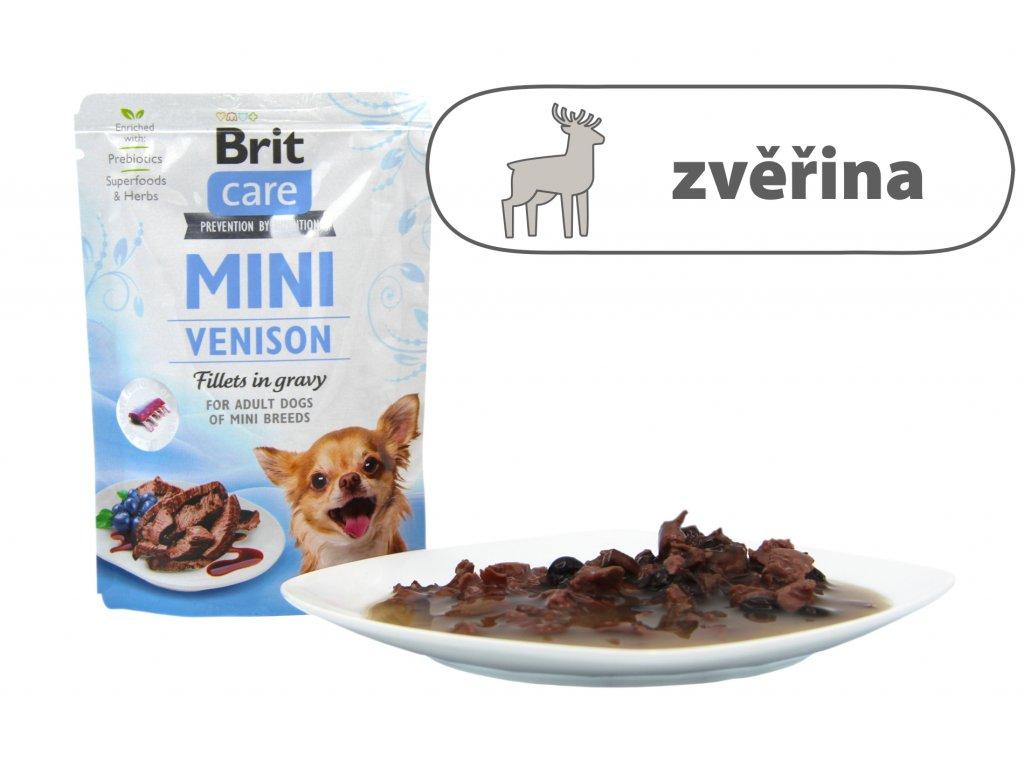 Brit Care Mini Venison štítek