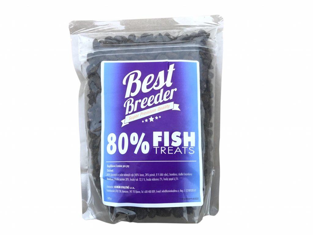 Best Breeder GF 80 % Fish Dog Treats 500 g