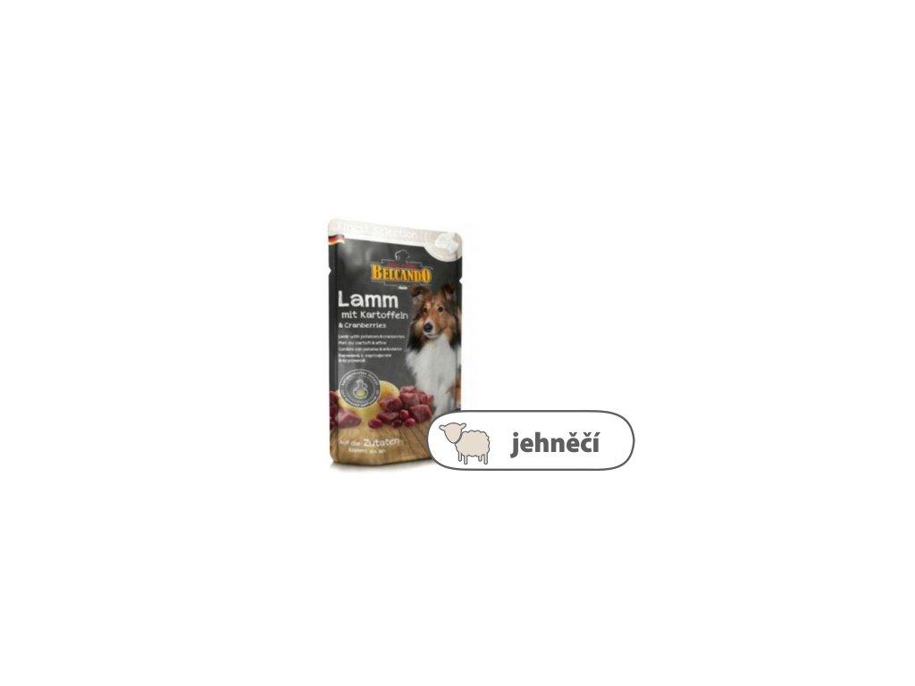 Belcando – Jehněčí s bramborami & brusinkami 300 g