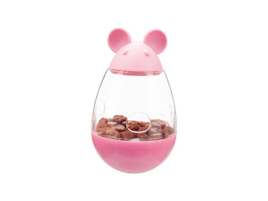 Cat Activity Snack Mouse, myška na pamlsky, plast, 9cm