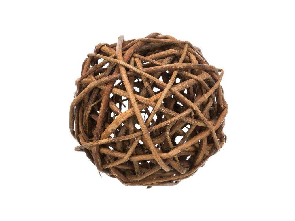 Proutěný míček pro křečky, ø 10 cm