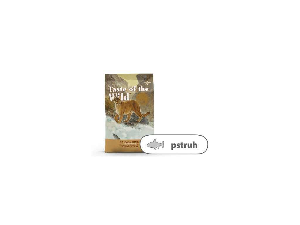 Taste of the Wild Canyon River Feline 6,6 kg   Krmiva u Toma