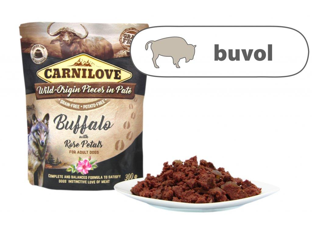 Carnilove Buffalo štítek