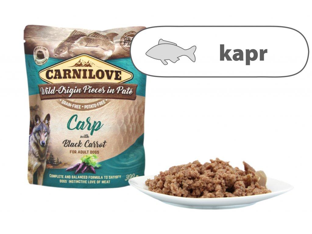 Carnilove Carp štítek