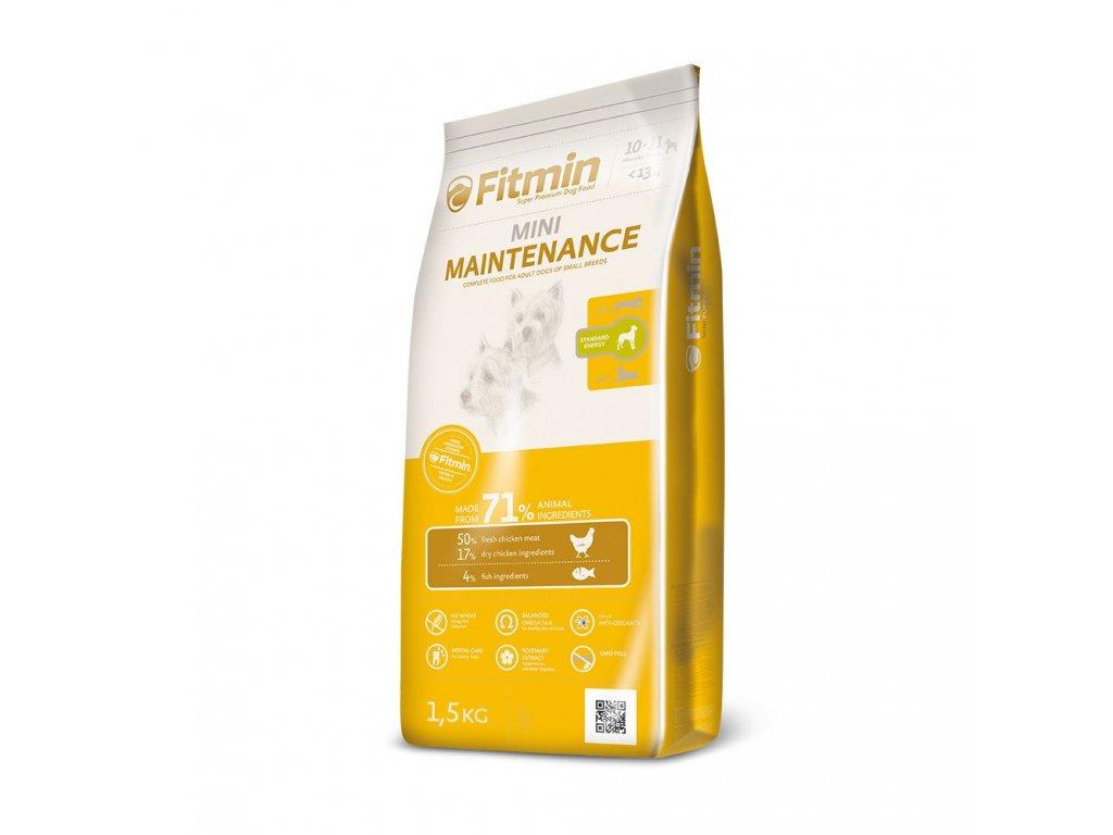 Fitmin Mini Maintenance kompletní krmivo pro psy 1,5 kg