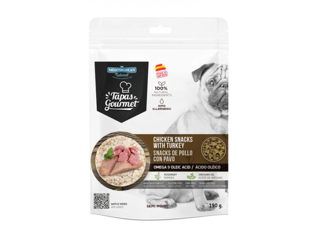 Tapas Gourmet kuře & krůta (190g)