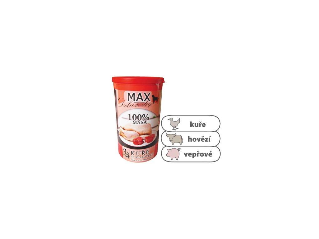 MAX Deluxe 3 4 kuřete se svalovinou 1200 g