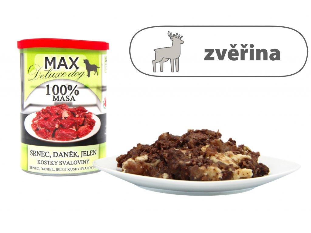 Max Srnec, daněk, jelen štítek menší