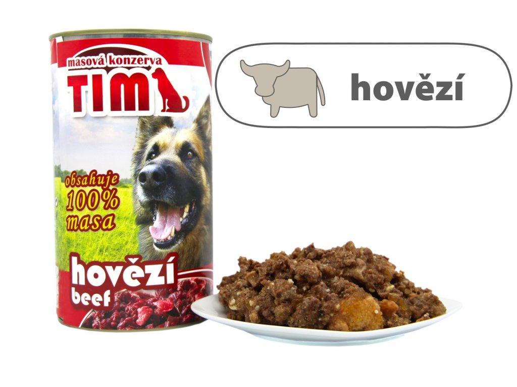 TIM dog hovězí 1200 g