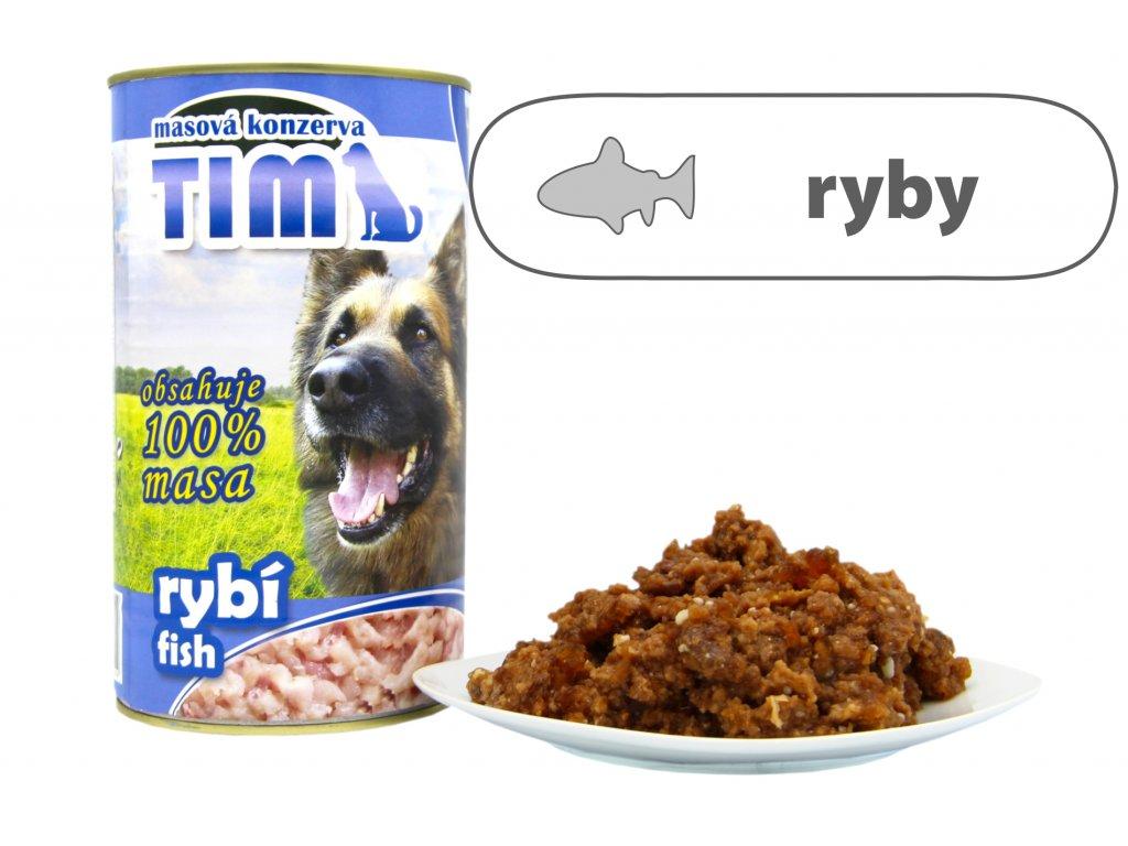 TIM dog rybí 1200 g