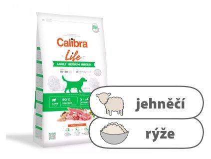 Calibra Dog Life Adult Medium Breed Lamb 2,5 kg