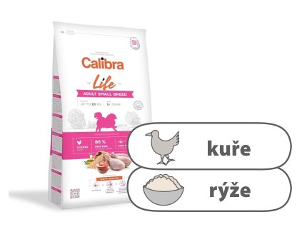 Calibra Dog Life Adult Small Breed Chicken 6 kg
