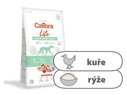 Calibra Dog Life Junior Large Breed Chicken 2,5 kg