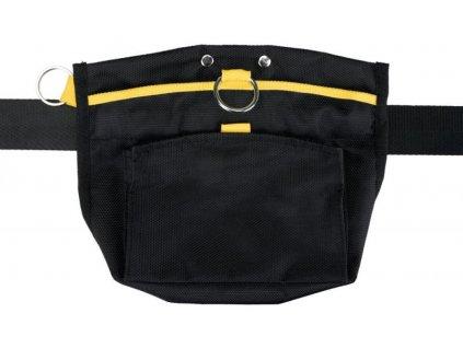 Sportovní pamlskovník/ledvinka, obvod pasu do 120cm černo/žlutý