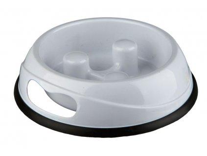 Plastová miska proti hltání jídla 0,45 l 20 cm 2